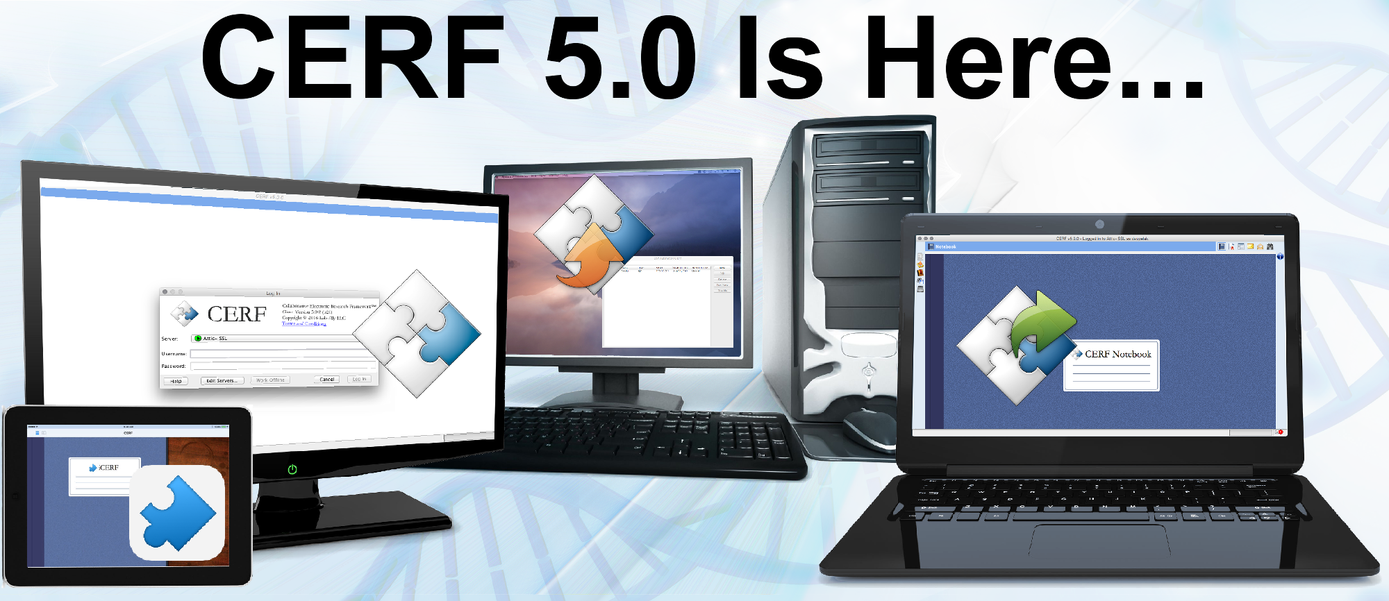 CERF 5.0 is here - Announcing the release of the newest version of CERF ELN