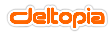 Deltopia logo- maker of Deltawalker